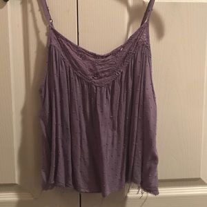 Free People lilac flowy top